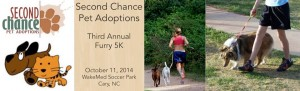 Second Chance Pet Adoptions 5K Run