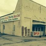 Bulluck Sale Warehouse Entrance on Church St.