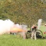 Bentonville Battlefield  150th Anniversery Reenactment