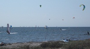 Kiteboarding at Cape Hatteras