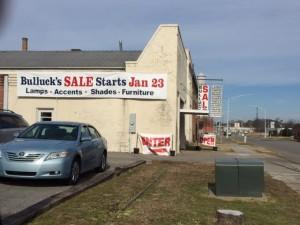 Bulluck Warehouse Sale 2016 at 218 N. Church Street