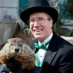 Sir Walter Wally on Groundhog Day in Raleigh 2/2/2017
