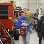 Farm Show crowds enjoying the sites
